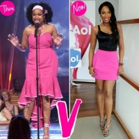 Jennifer Hudson weightloss - before and after
