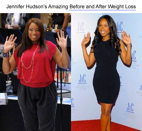 Jennifer Hudson diet - before and after
