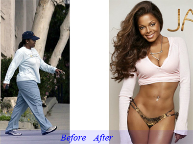 Janet Jackson's weight loss