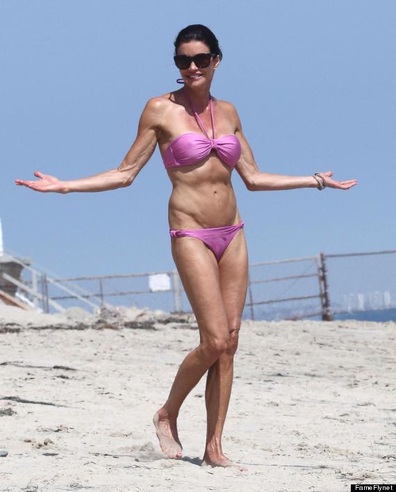 Janice Dickinson bikini body